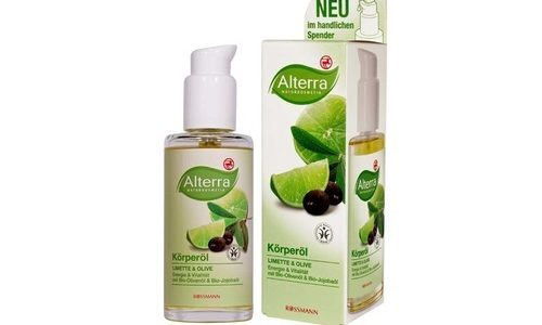 ALTERRA – olejek do ciała limetka i oliwa