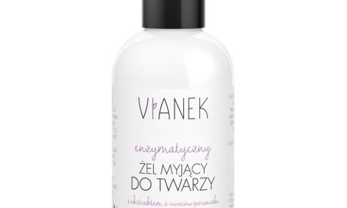 VIANEK – enzymatyczny żel do mycia twarzy (fioleowy) ♥