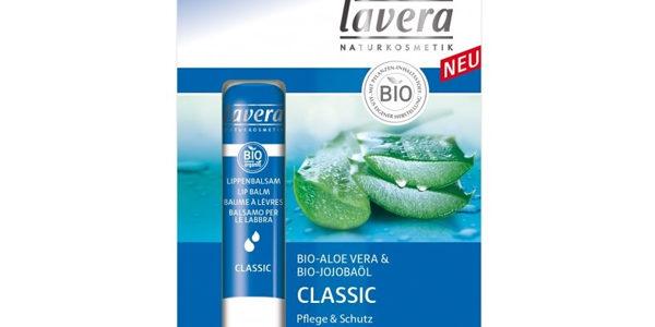 LAVERA balsam do ust classic z bio-aloesem i bio-jojobą