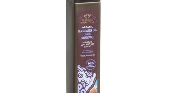 PLANETA ORGANICA – szampon macadamia dla włosów przetłuszczających się