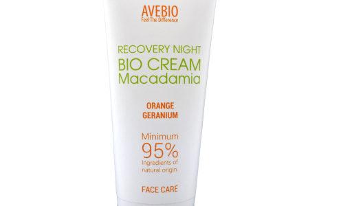 AVEBIO: regeneracyjny bio krem na noc z olejem makadamia ♥