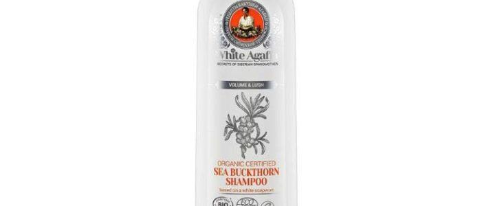 WHITE AGAFIA – szampon rokitnikowy – objętość i puszystość