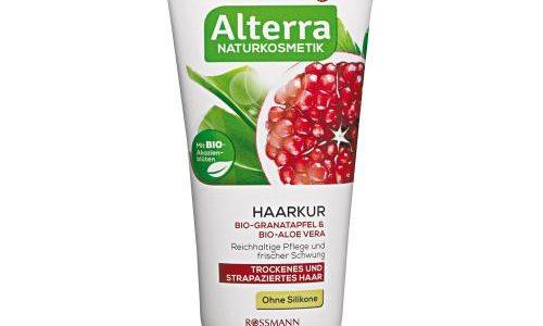 ALTERRA – maska do włosów suchych i zniszczonych z granatem